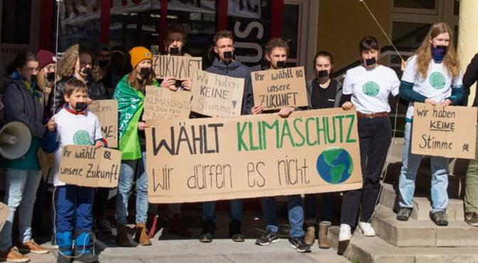 Klimastreik zur Kommunalwahl